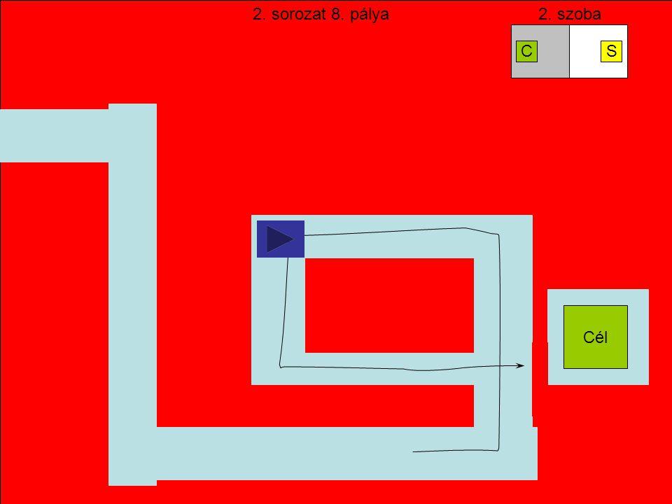 Start SIESS!!. Egy pálya nagyobb is lehet, mint a képernyő… A zöld nyíl mutatja, merre van a cél.