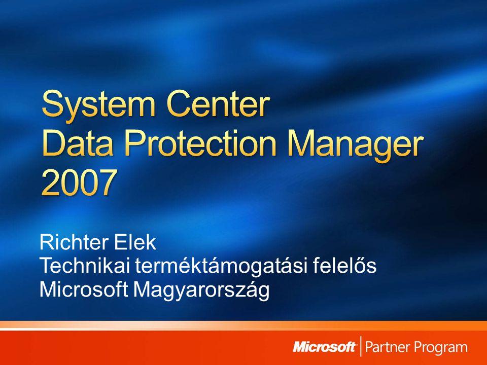 Richter Elek Technikai terméktámogatási felelős Microsoft Magyarország