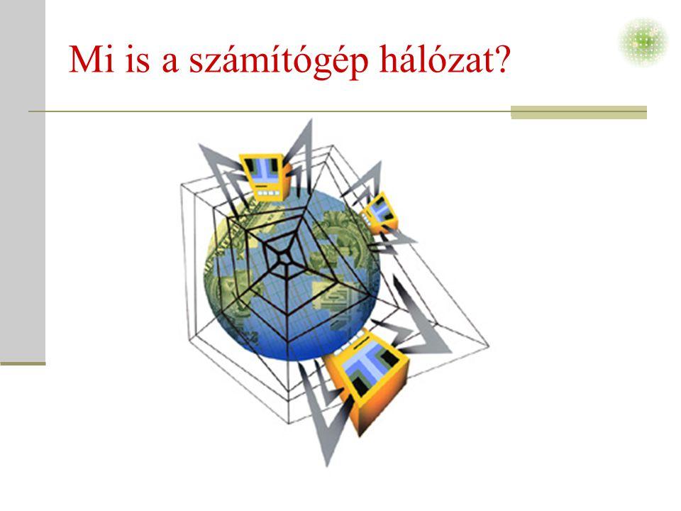 Mi is a számítógép hálózat?