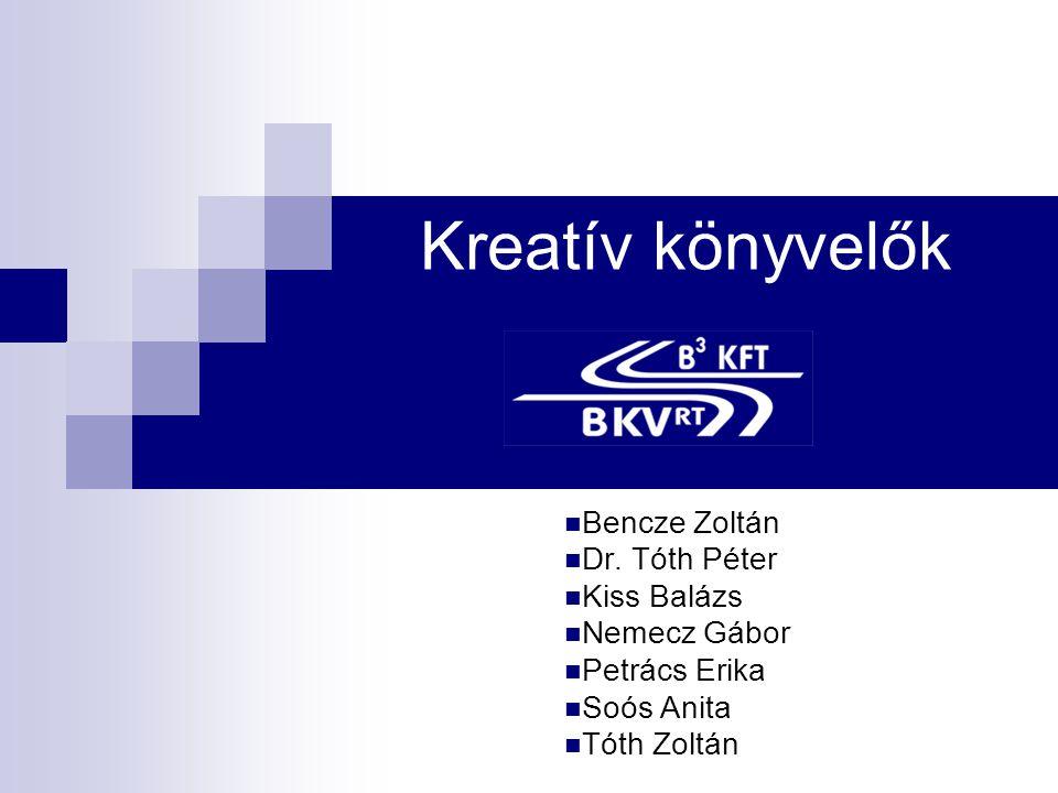 Kreatív könyvelők  Bencze Zoltán  Dr.