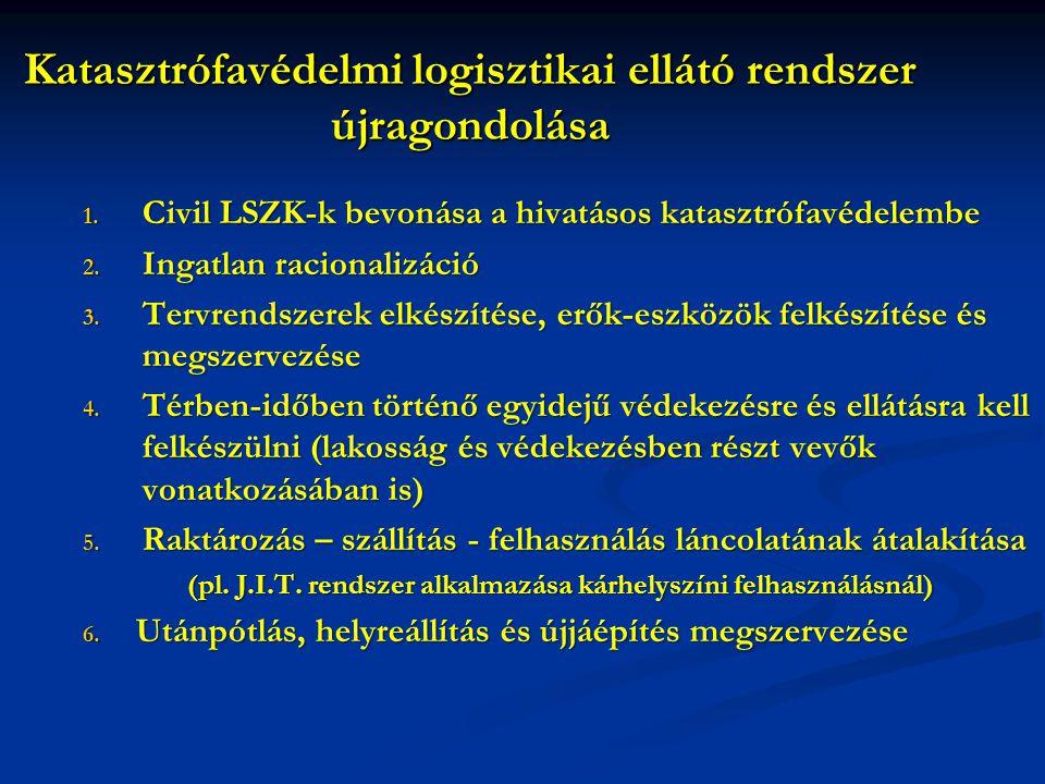 Katasztrófavédelmi logisztikai ellátó rendszer újragondolása 1.