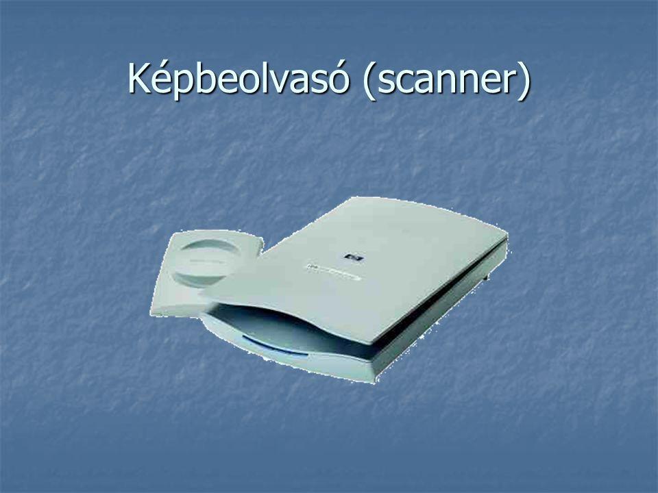 Képbeolvasó (scanner)