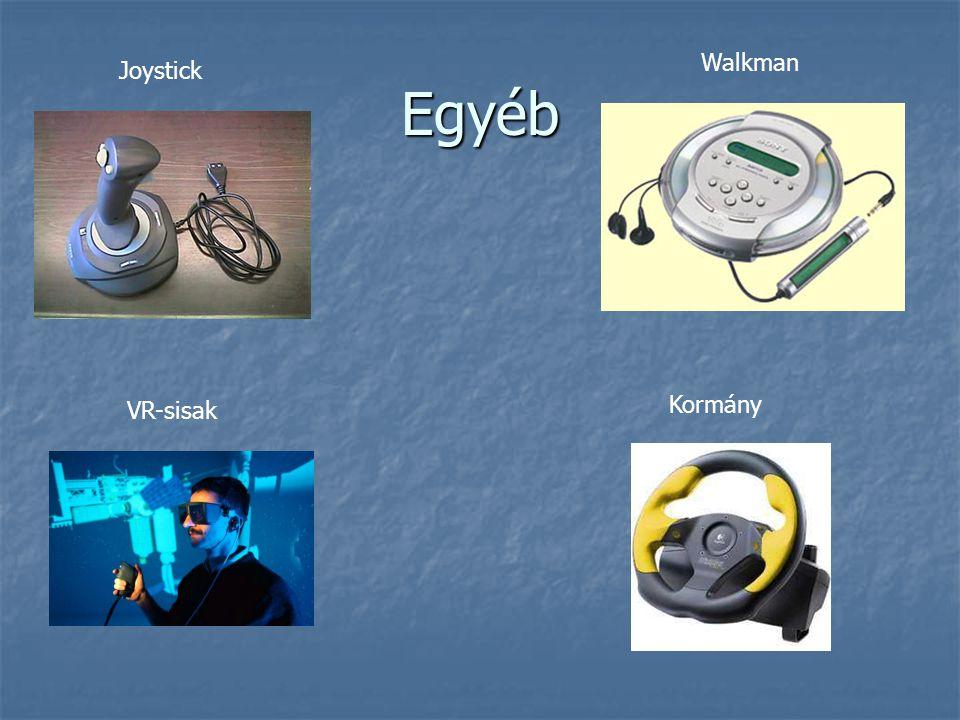 Egyéb VR-sisak Joystick Kormány Walkman