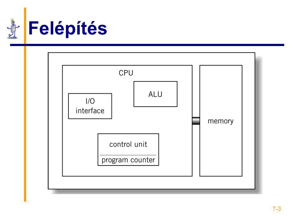 7-34 Utasítás formátumok: RISC
