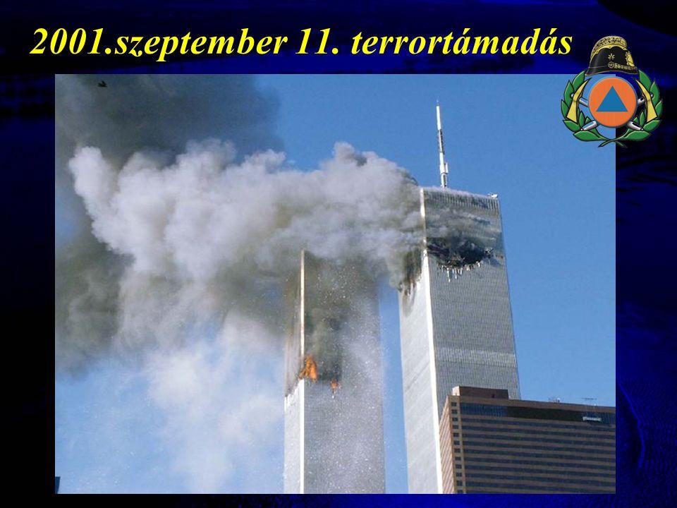 2001.szeptember 11. terrortámadás