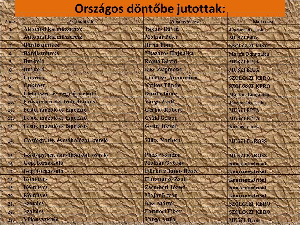 Szakma Sztár Fesztivál: 2012.április 11-13.