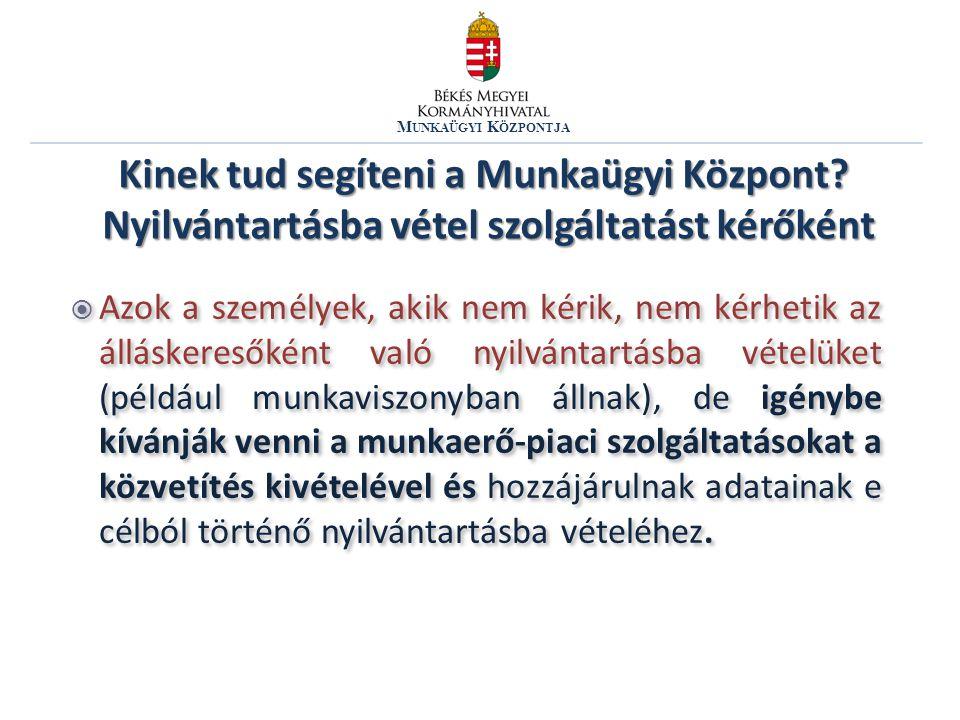 M UNKAÜGYI K ÖZPONTJA 2.