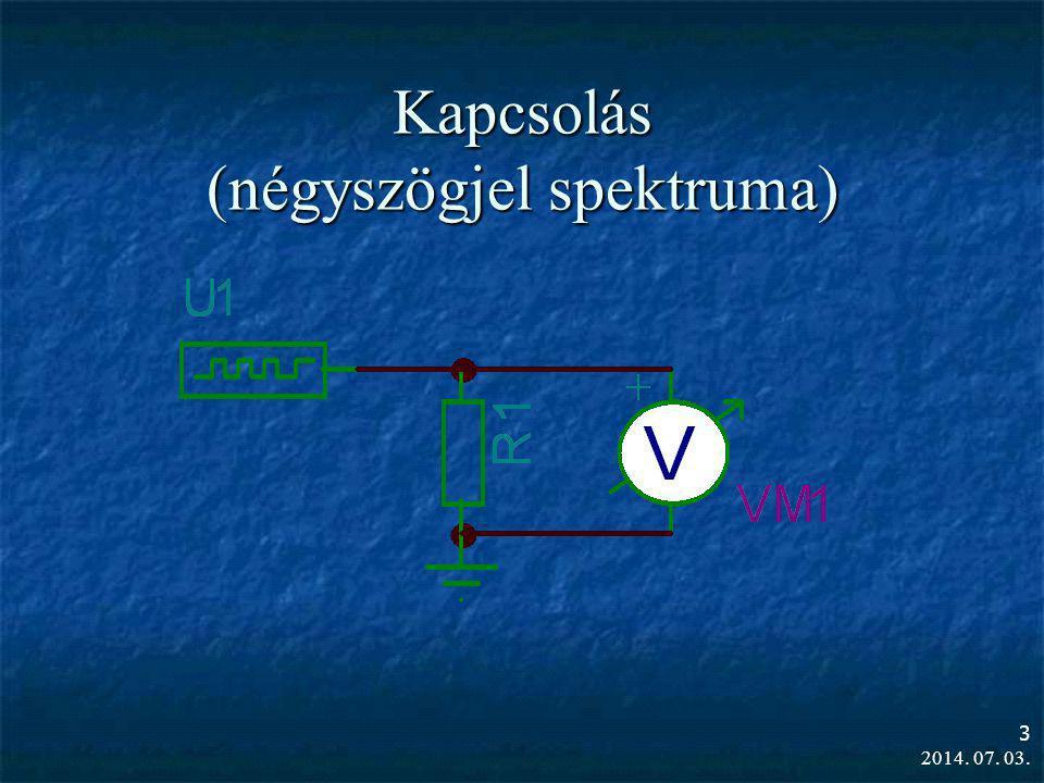  Futási idő (vezeték késleltetési ideje): τ=l/c  Egyszerű összekötő vezetéknél τ≈5 ns/m  Ha a feszültségugrás ideje, illetve a jelváltozás maximális sebességéből számítható idő (τ=1/ω) rövidebb, mint a vezeték késleltetési idejének kétszerese (Δt u <2τ), akkor a generátor áramát a belső ellenállásának és a vezeték hullámimpedanciájának az eredője szabja meg.