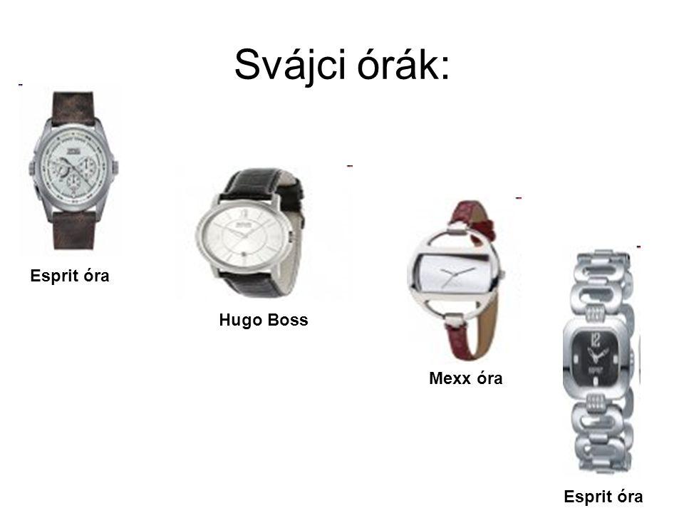 Svájci órák: Hugo Boss Mexx óra Esprit óra