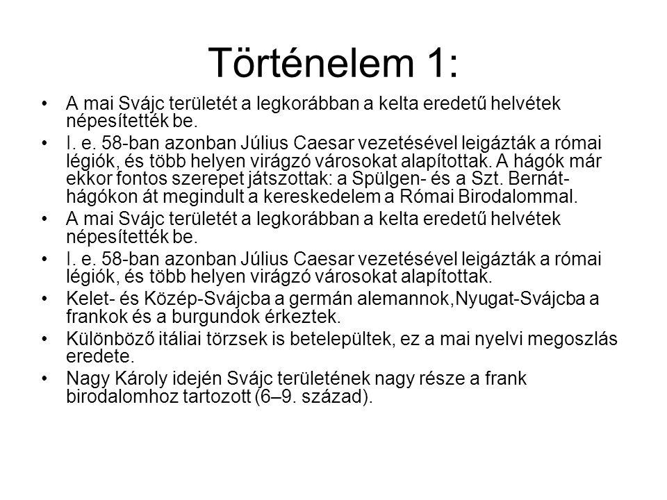 Svájci bicskák: