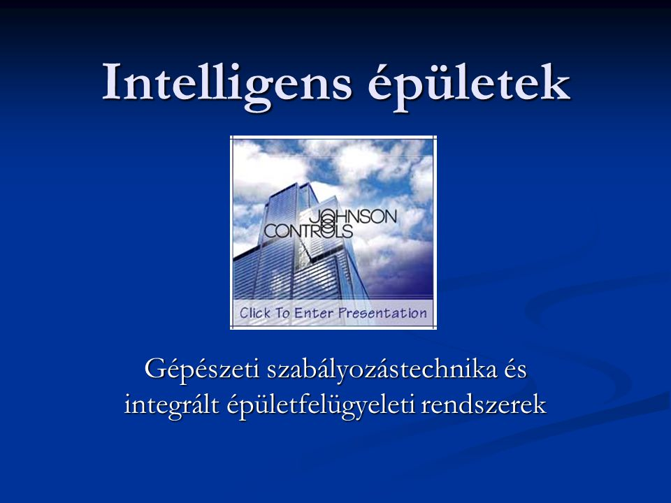 Johnson Controls International Kft.- Kandó Kálmán Műszaki Főiskola 52 2014.