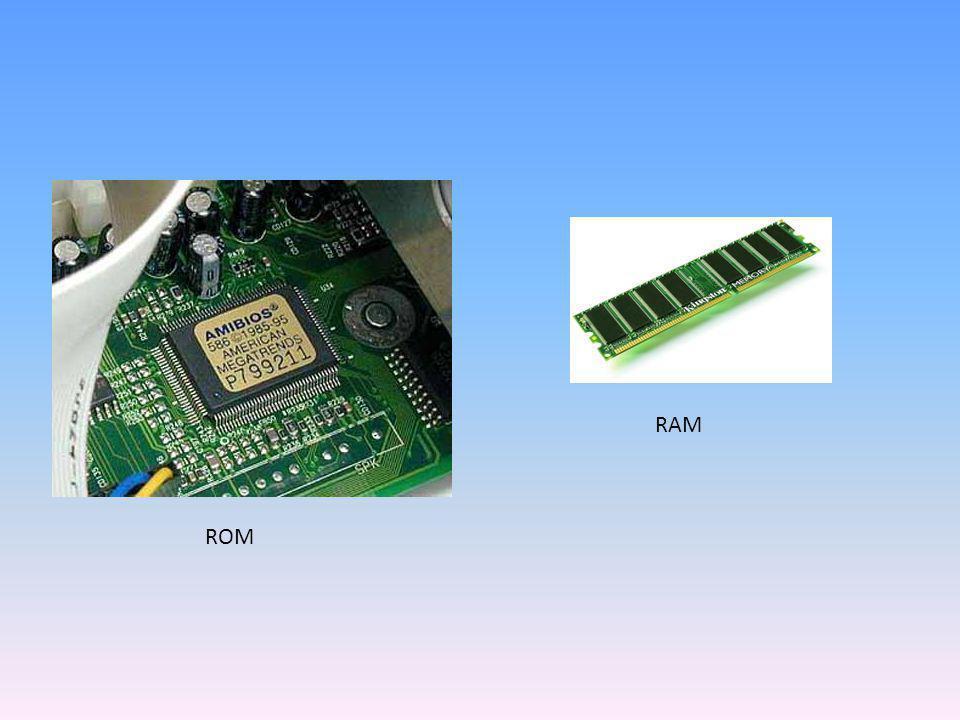 ROM RAM