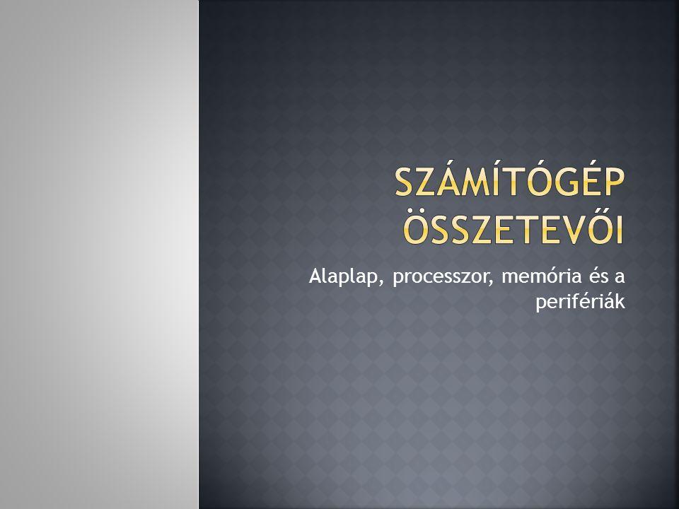  Statikus RAM, SRAM (ang.Static Random Access Memory).SRAM  Dinamikus RAM, DRAM (ang.
