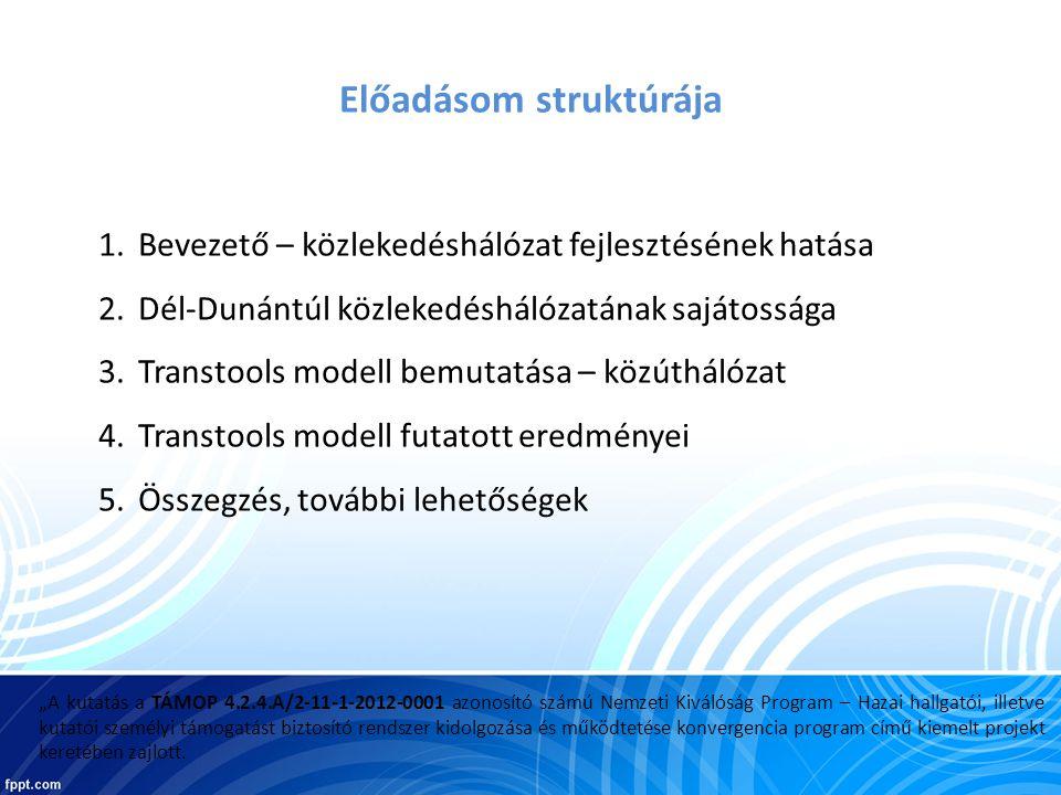 Előrejelzések: 2005 alapadatok alapján 2020 és 2030-ra Forgatókönyvek: 1.