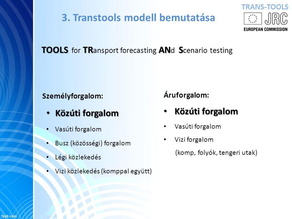 Teherforgalom alakulása 2025-ben teljes gazdasági növekedés mellett Forrás: TENCONNECT, Traffic flow: Scenario, Traffic Forecast and Analysis of Traffic on the TEN-T, 2009, 78o.