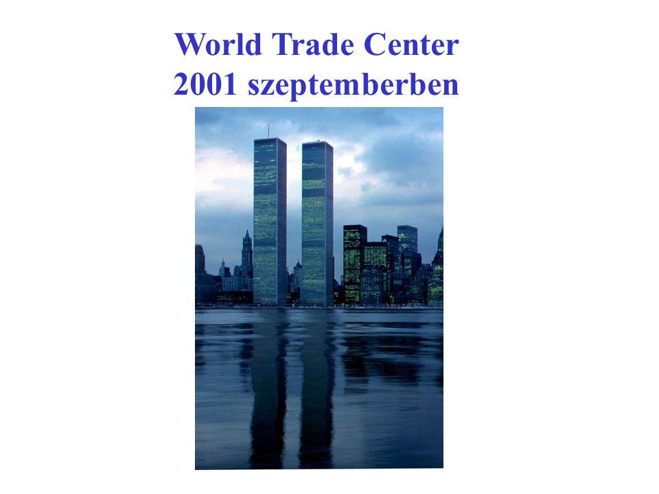 World Trade Center 2001 szeptemberben