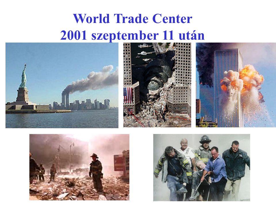 World Trade Center 2001 szeptember 11 után