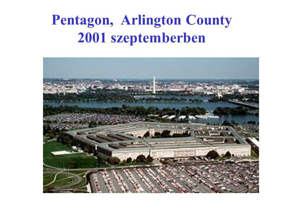 Pentagon, Arlington County 2001 szeptemberben