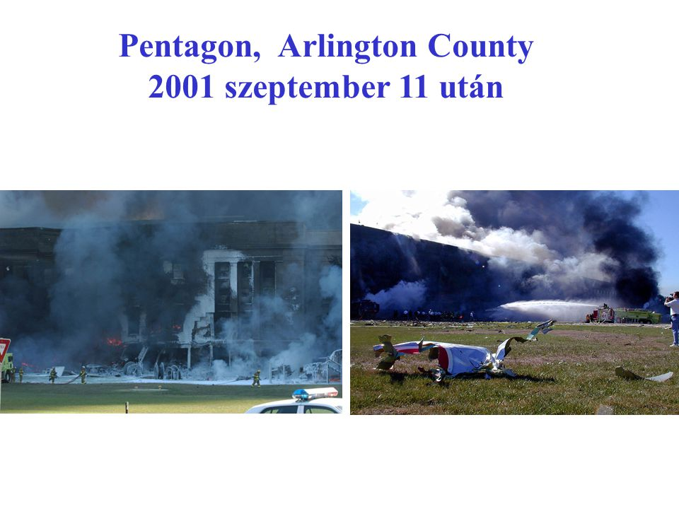 Pentagon, Arlington County 2001 szeptember 11 után