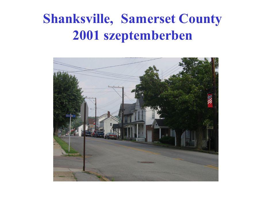 Shanksville, Samerset County 2001 szeptemberben