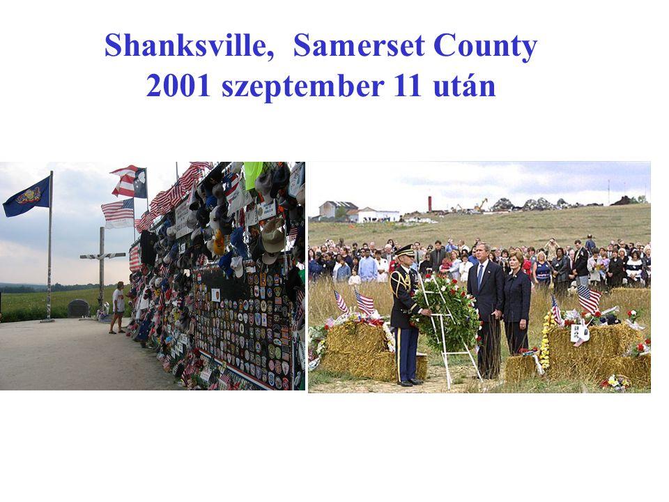 Shanksville, Samerset County 2001 szeptember 11 után