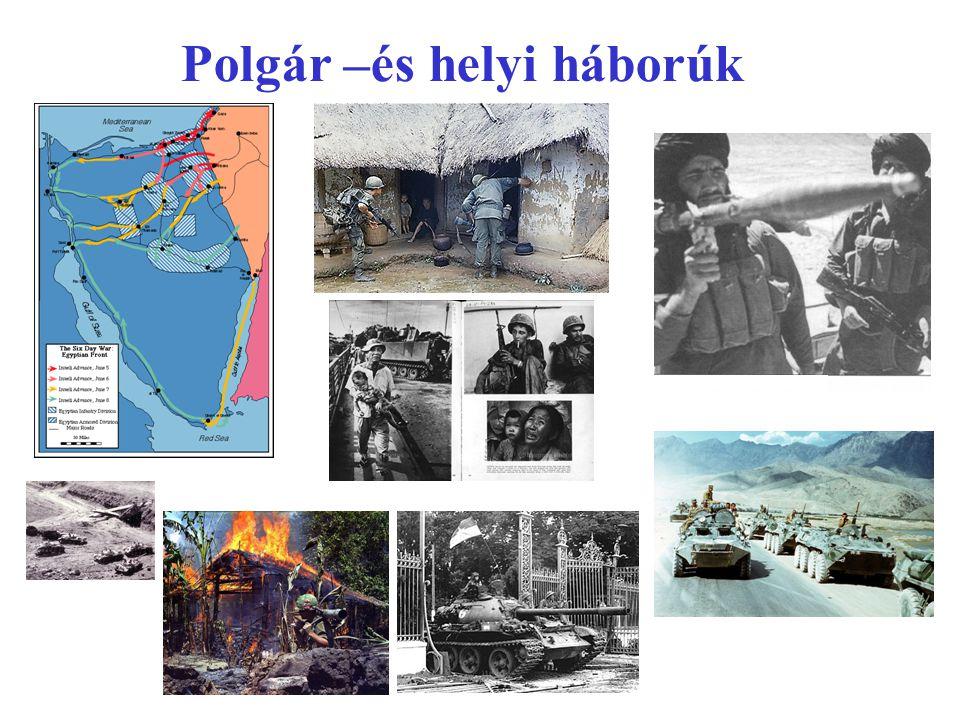 Polgár –és helyi háborúk áldozatai
