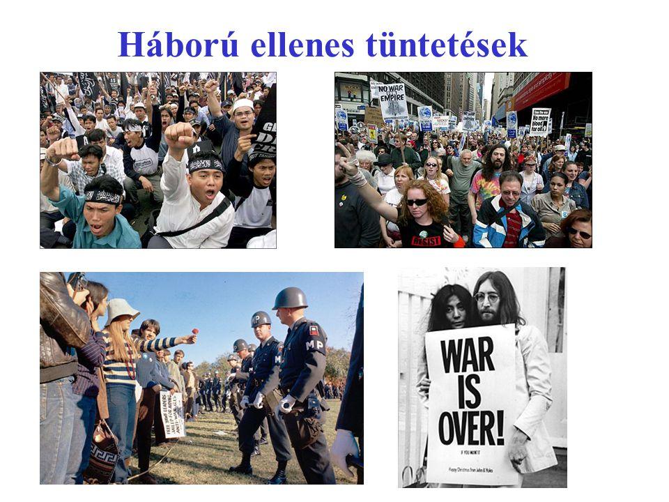 Háború ellenes tüntetések