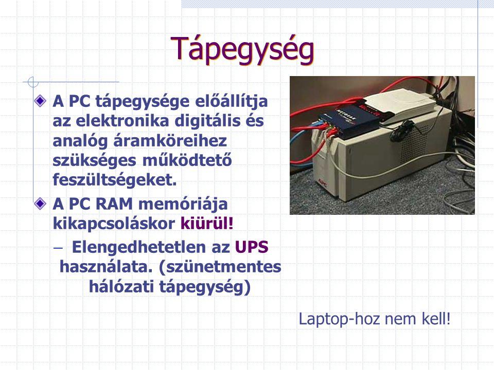 Perifériák In Billenyűzet Egér Optikai lemez Scanner Out Monitor Optikai lemez Nyomtató (plotter) Hangfalak