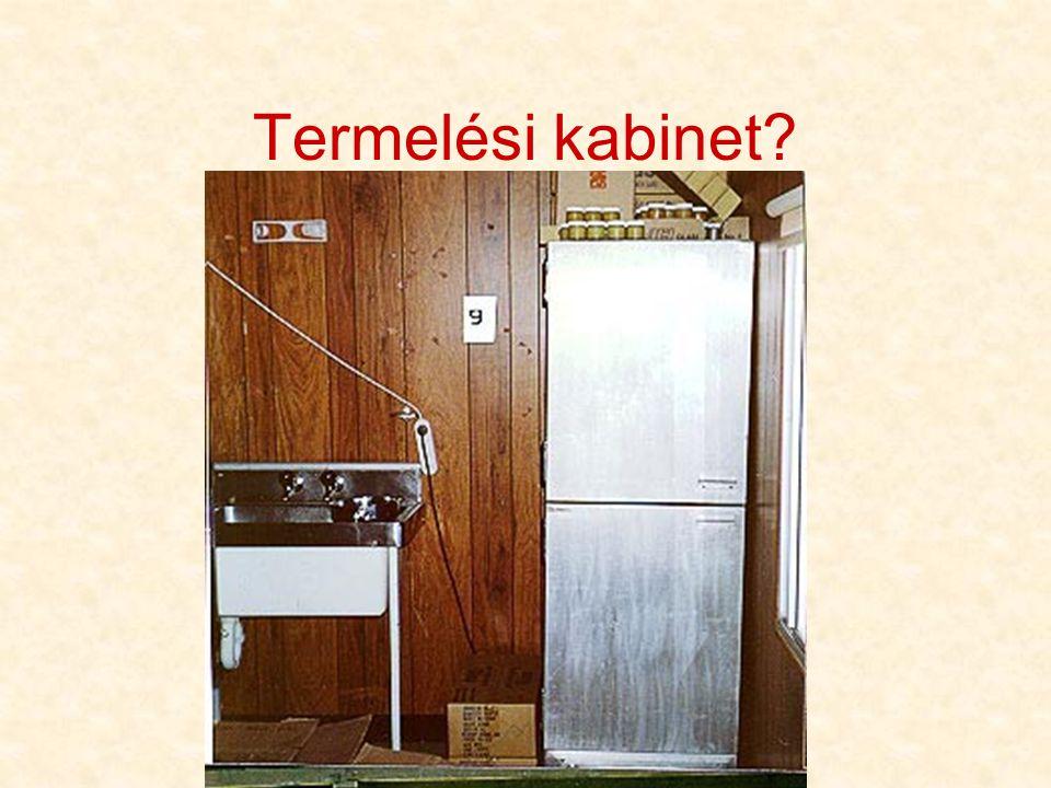 Termelési kabinet?