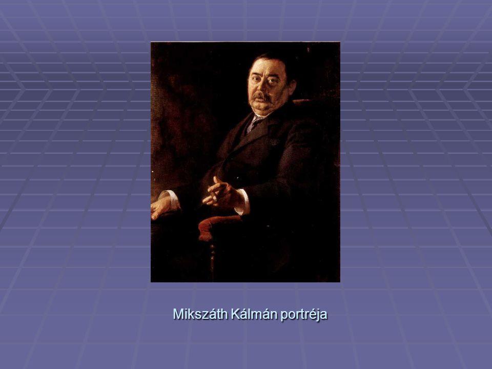 Mikszáth Kálmán portréja