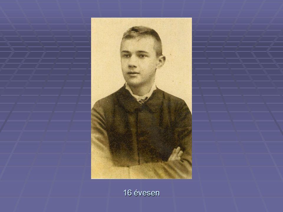 A pályakezdő (1906 – 1907 körül)