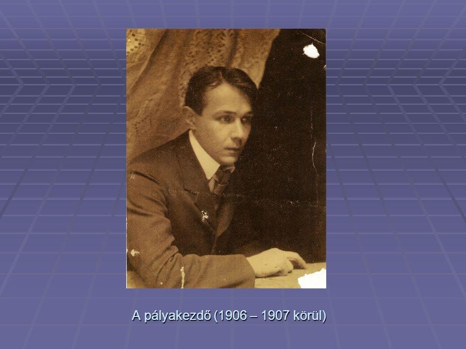 beérkezett A beérkezett (1924-ben?)