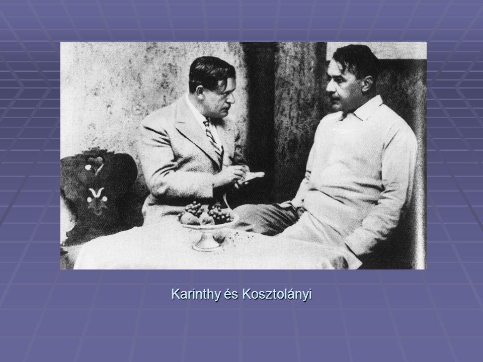 Karinthy és Kosztolányi
