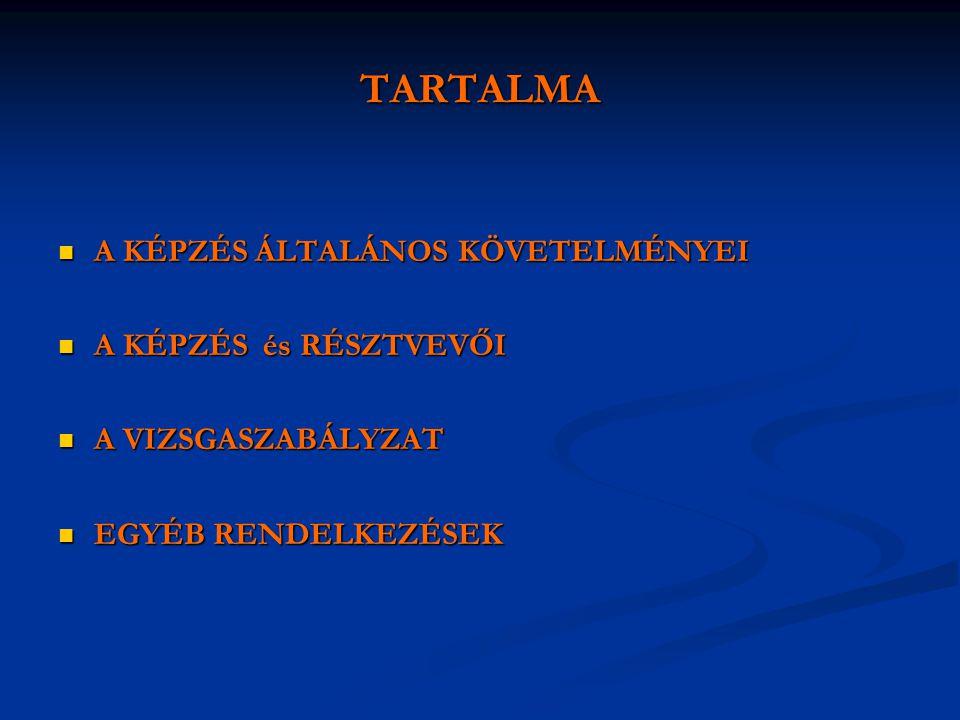 A KULTURÁLIS PROJEKTCIKLUS MENEDZSMENT törvényessége és hatálya  A 1997.