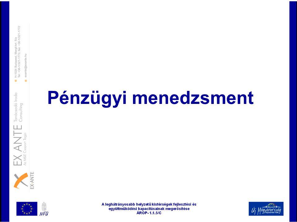 Pénzügyi menedzsment
