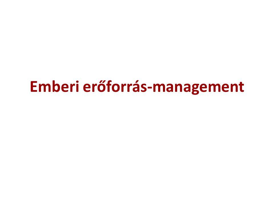 Emberi erőforrás-management