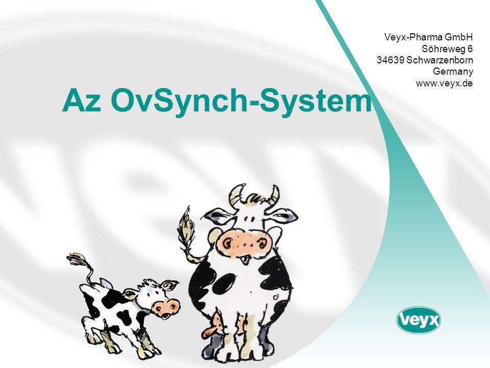 •A reagáló cisztákkal rendelkező tehenek aránya összehasonlítva a normálisan ivarzó tehenekkel (a szinkronizálás mértéke 77 – 88 %) •A ciszták folyamatos kisebbedése a kezelés alatt •Differenciácó a follikulus-lutein- és -theca ciszták között nem lehetséges •Az OvSynch stimulálja a petefészek működését •Vemhességi arány összesen 66.6 %, így összehasonlítható más terápiával Leue Összegzés