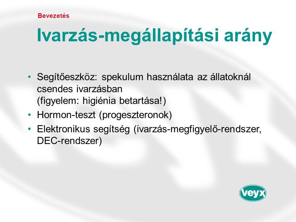 •Eredmények (MT 1 és MT 2 ) OvSynch A praxisból (Lengyelország) (J.