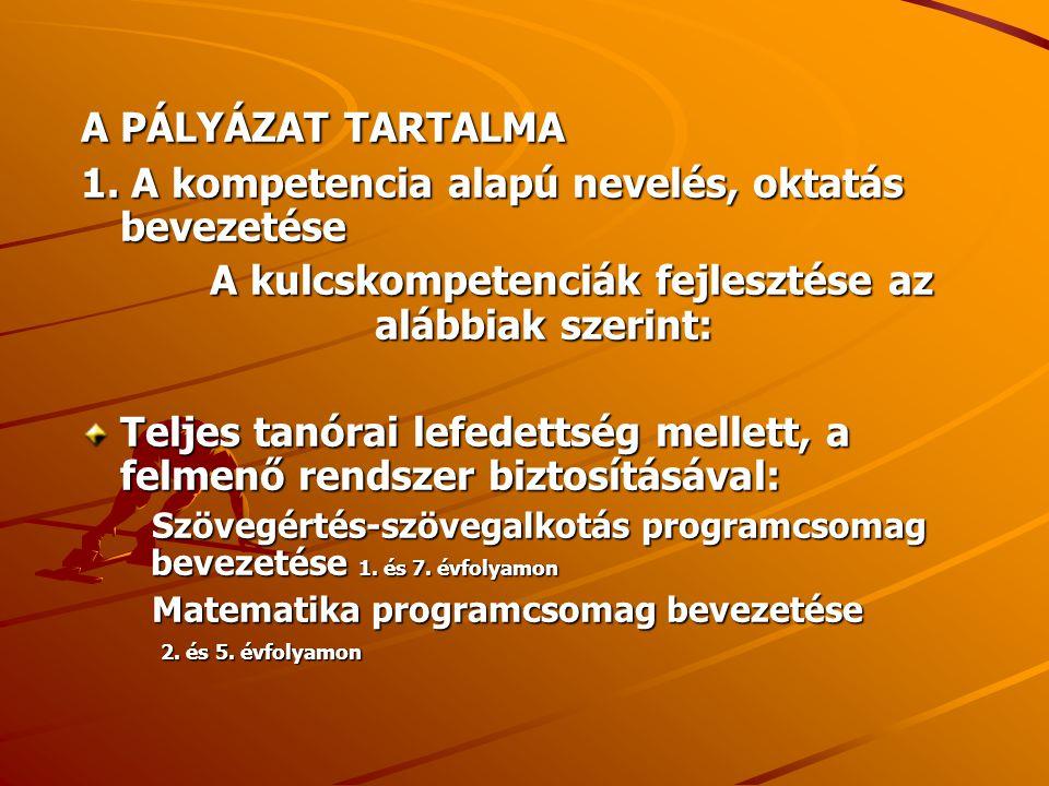 Idegen nyelvi kompetenciák fejlesztése (német) 3.és 5.