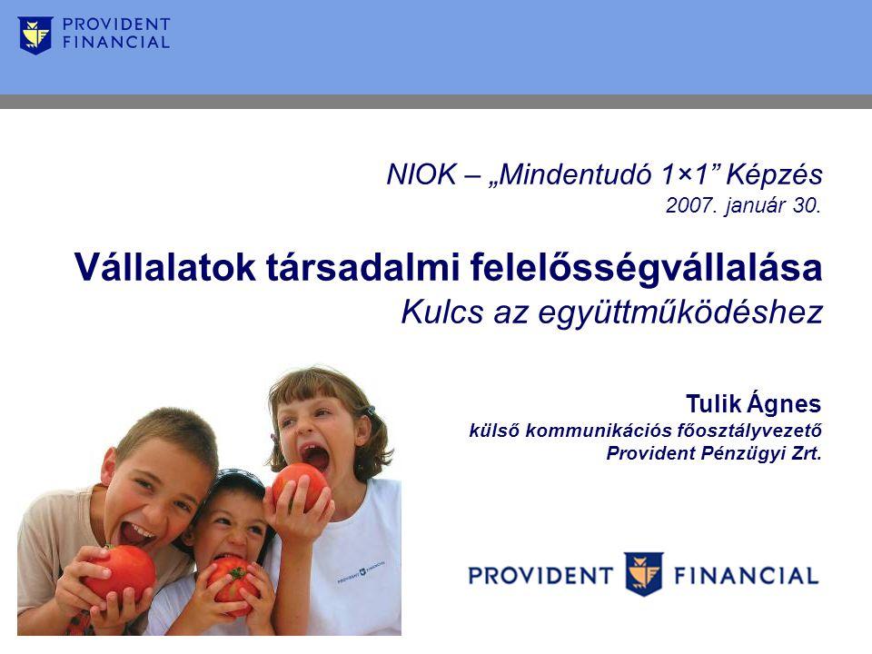 """NIOK – """"Mindentudó 1×1 Képzés 2007. január 30."""