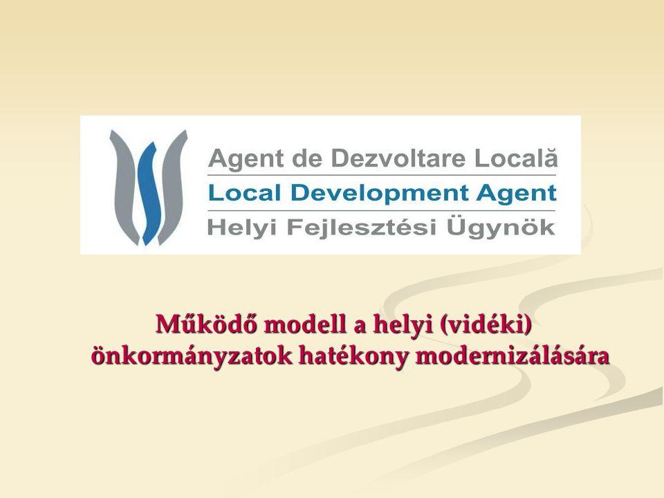Működő modell a helyi (vidéki) önkormányzatok hatékony modernizálására