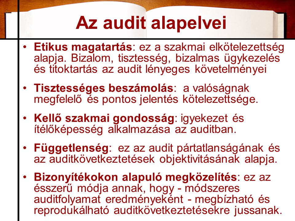 Audit hibák eloszlása •API MANUFACTURERS –Laboratory Controls 16 % –Process Controls 13 % –Records/Reports 13 % –Process Validation 11% –Water Systems 9 % –Equipment Cleaning 8 % –Stability Programs 8 % –Written Procedures 4 % –Building/Environment 4 % –Reprocessing/Rework 3 % –Other 11 % 40