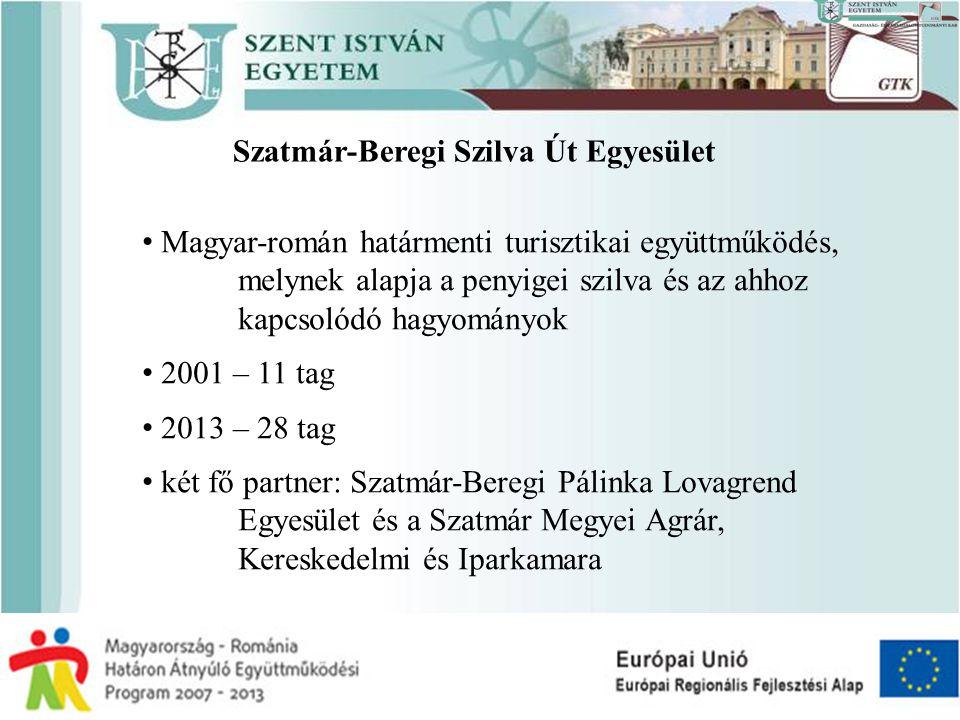 Szatmár-Beregi Szilva Út Egyesület • Magyar-román határmenti turisztikai együttműködés, melynek alapja a penyigei szilva és az ahhoz kapcsolódó hagyom