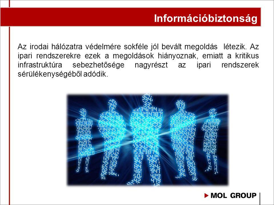 Az irodai hálózatra védelmére sokféle jól bevált megoldás létezik. Az ipari rendszerekre ezek a megoldások hiányoznak, emiatt a kritikus infrastruktúr