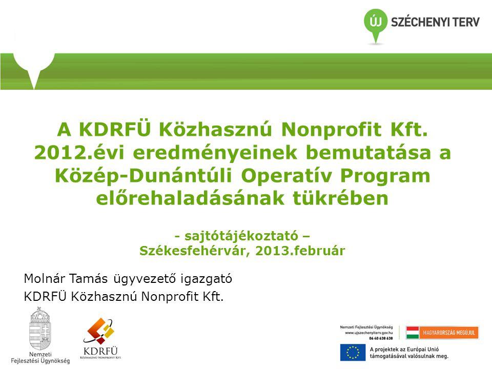 A KDOP keretszámai PrioritásOP forrás OP keret Arány M EURMrd HUF 1.