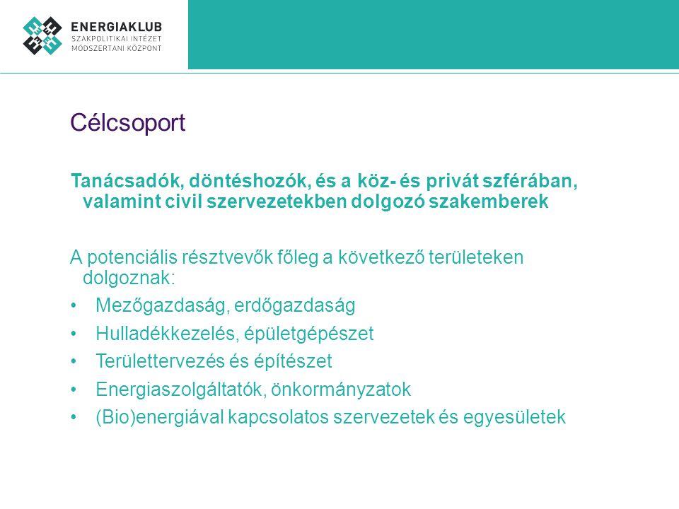 GAK Kft.– Energiaklub együttműködés •A képzést az Energiaklub és a GAK Kft.