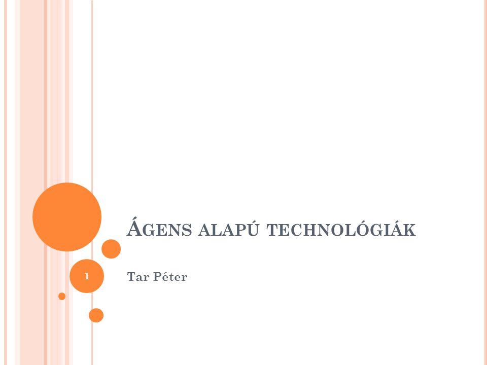 Á GENS ALAPÚ TECHNOLÓGIÁK Tar Péter 1