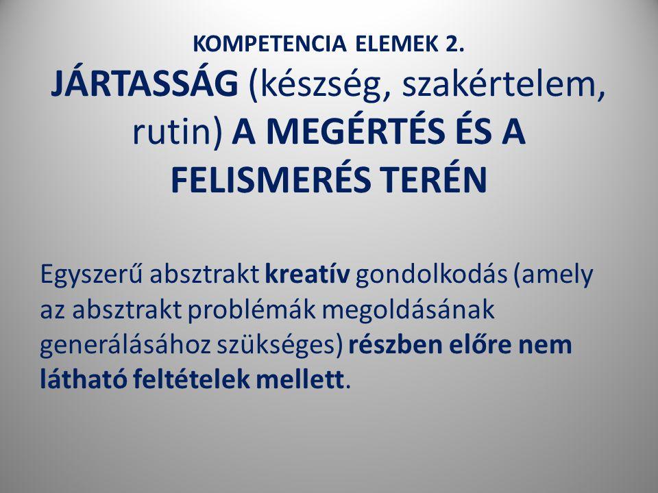 KOMPETENCIA ELEMEK 2.