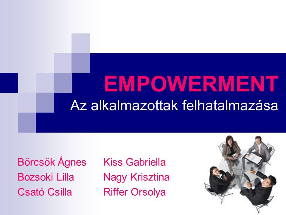MIÉRT VAN SZÜKSÉG AZ EMPOWERMENTRE.Mik az empowerment alappillérei.