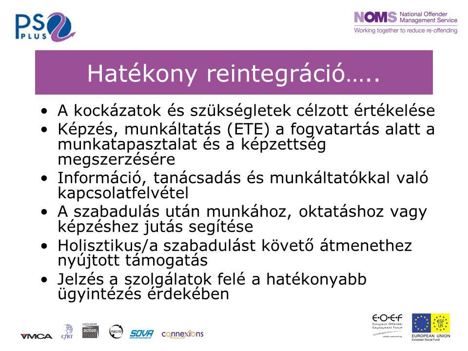 Hatékony reintegráció…..